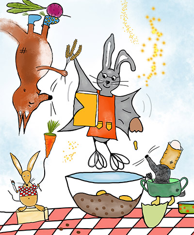 Ein Kochbuch voller Abenteuergeschichten