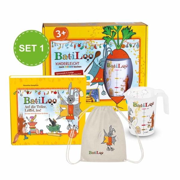 BatiLoo Abenteuer-Paket für kleine Chefkoeche