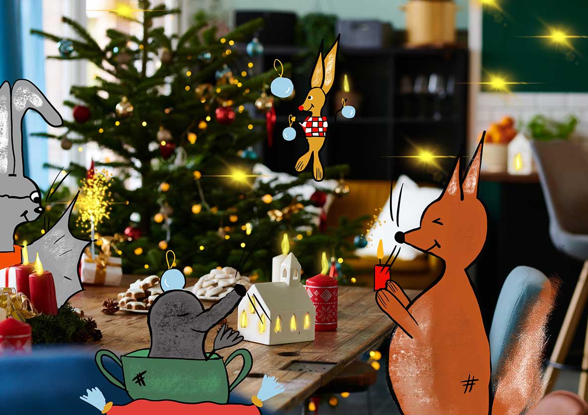 Weihnachten feiern